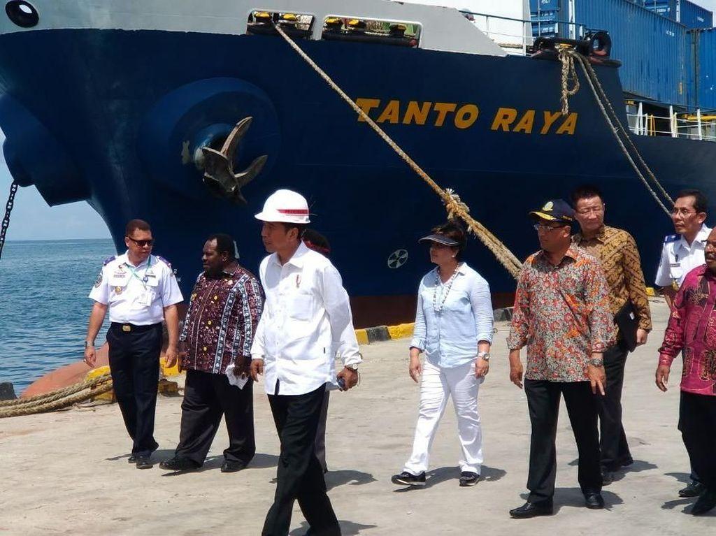 Ada Pelabuhan Nabire, Jokowi: Tak Untung Bila Tak Ekspor