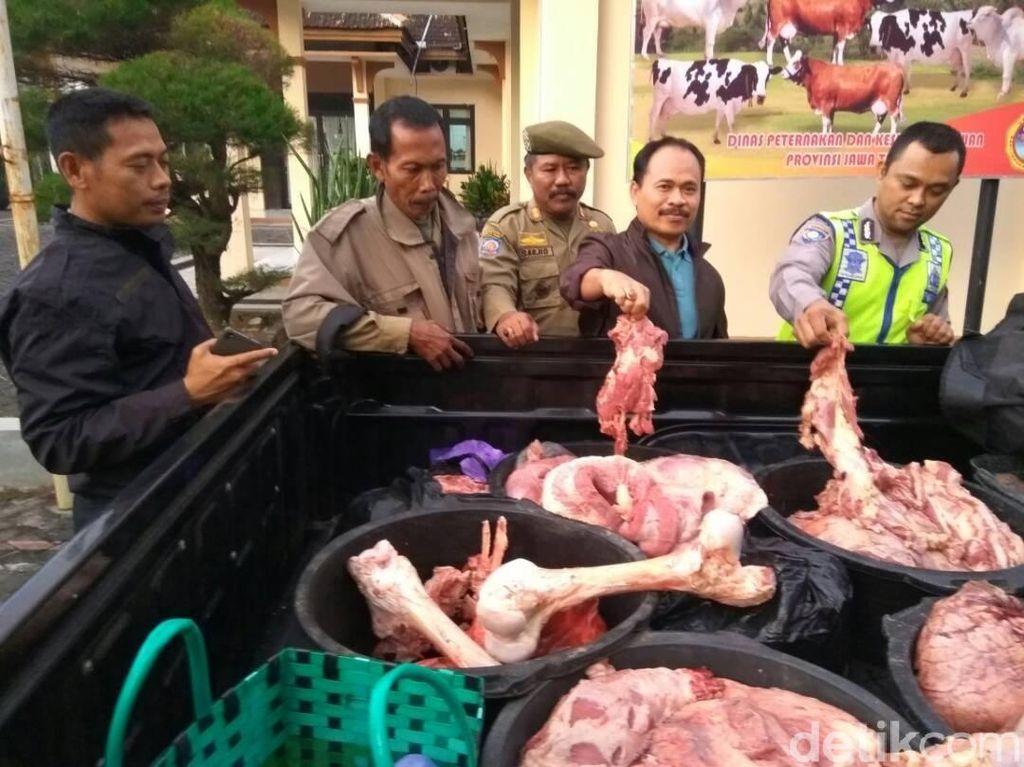 1 Kuintal Daging Gelonggongan Ditemukan di Grobogan