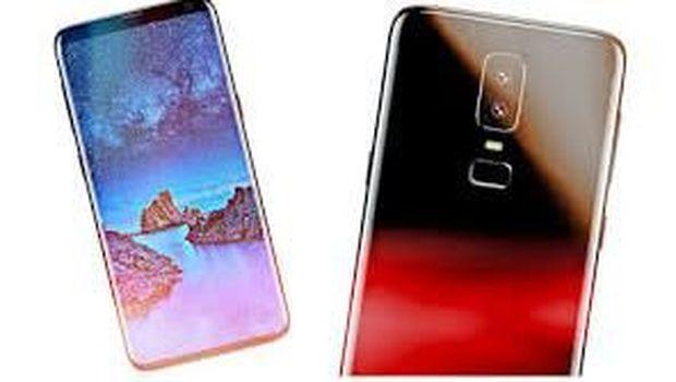 Ponsel Vkworld S9 yang menggandakan Galaxy S9.
