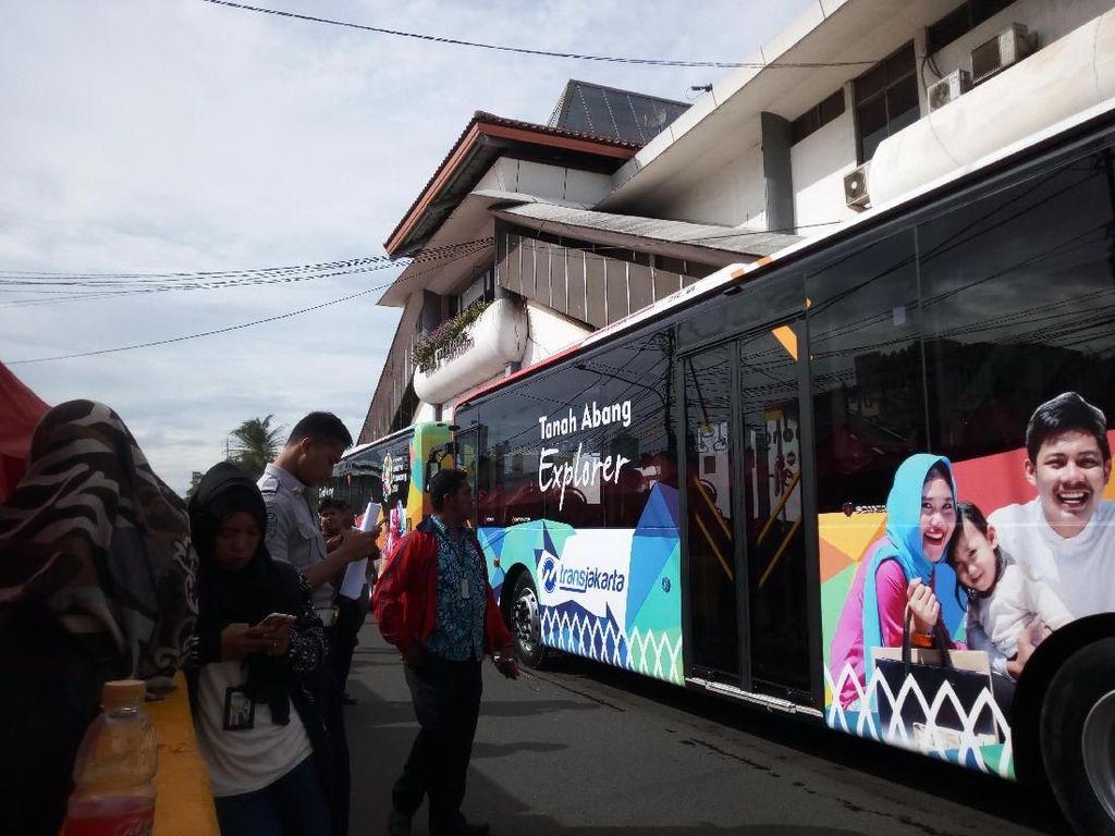 Pemprov DKI Sediakan 10 Bus Tanah Abang Explorer
