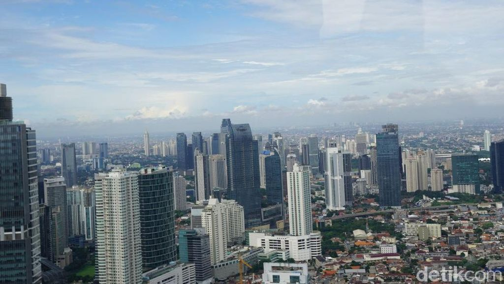 Foto: Cantik! Lanskap Jakarta dari Helikopter