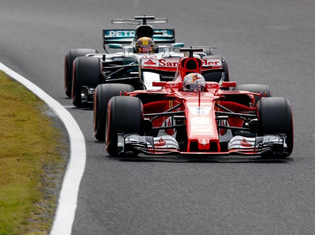 Video saat Vettel Jadi Kampiun di GP Australia