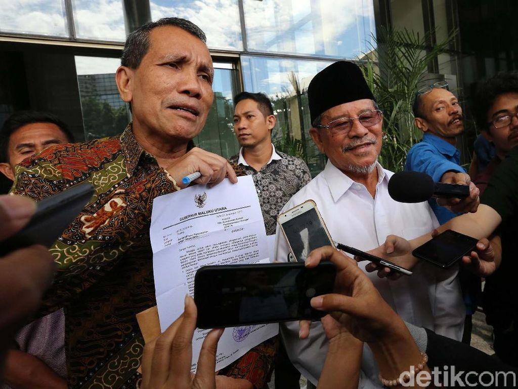Gubernur Maluku Utara Minta KPK Dampingi Susun RAPBD