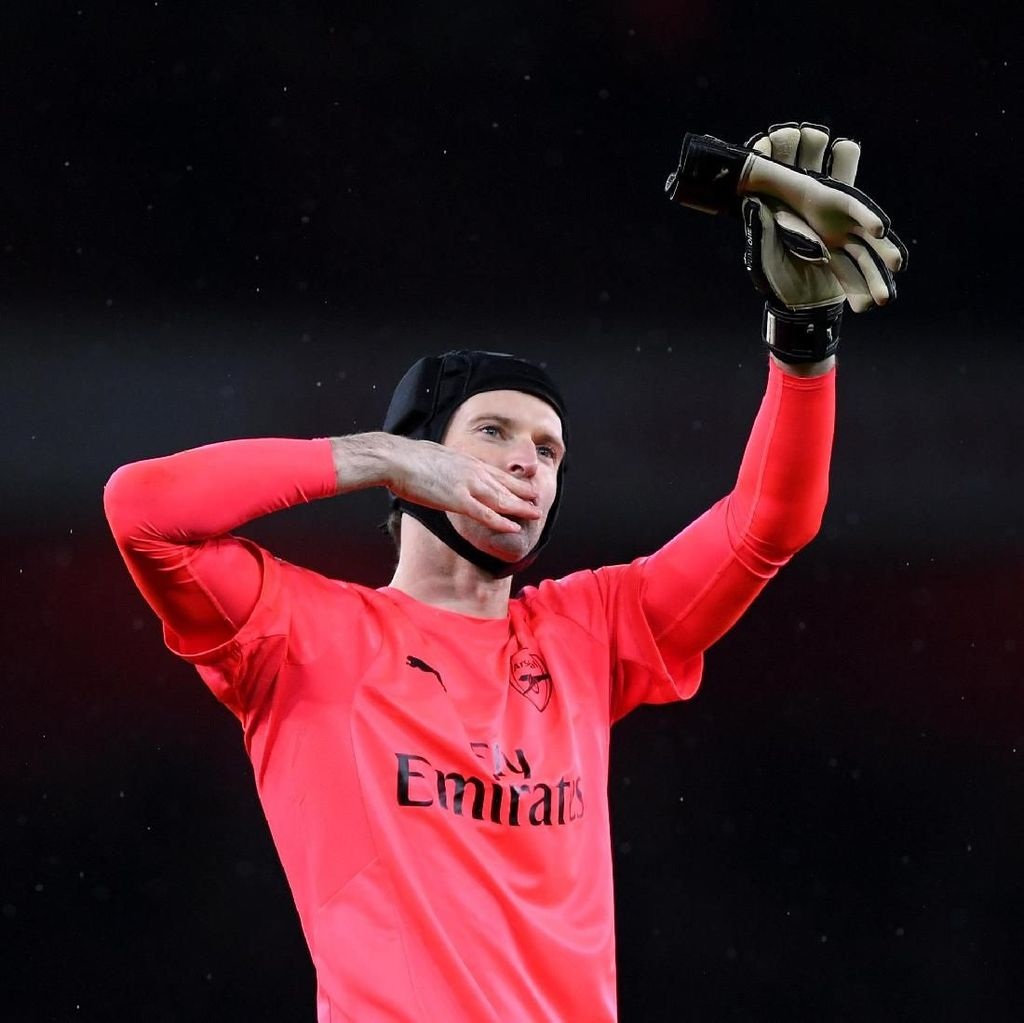 Tekad Cech Jaga Performa demi Kelanjutan Kariernya di Arsenal