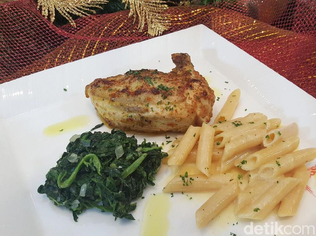 Resep Ayam: Spicy Chicken Poletto with Cheese Penne