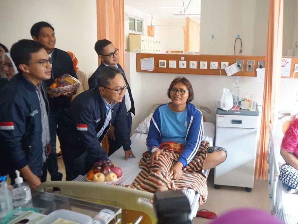 Hari Ibu, Ketua MPR Bersama Artis Hibur Pasien RSCM