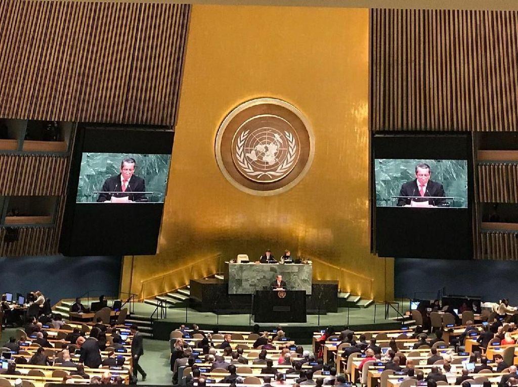 Foto: Sah! Majelis Umum PBB Tolak Keputusan AS Soal Yerusalem