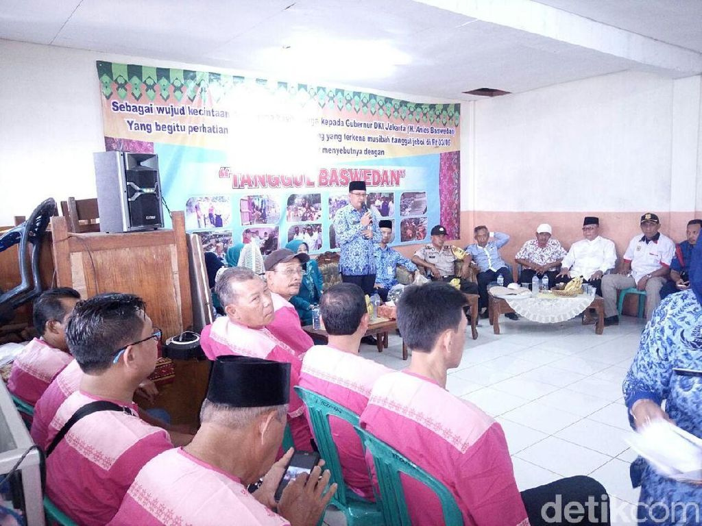 Anies akan Lebarkan Kali Pulo, Camat: Warga Jati Padang Mendukung