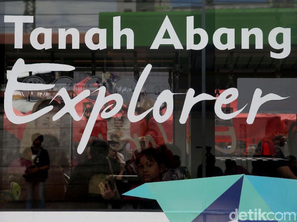 Tanah Abang Explorer Beroperasi Lagi, Hanya Pukul 08.00-15.00 WIB