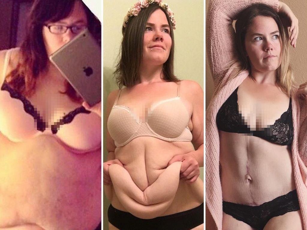 Inspirasi Resolusi Sehat! Transformasi Wanita Pangkas 68 Kg Berat Badan