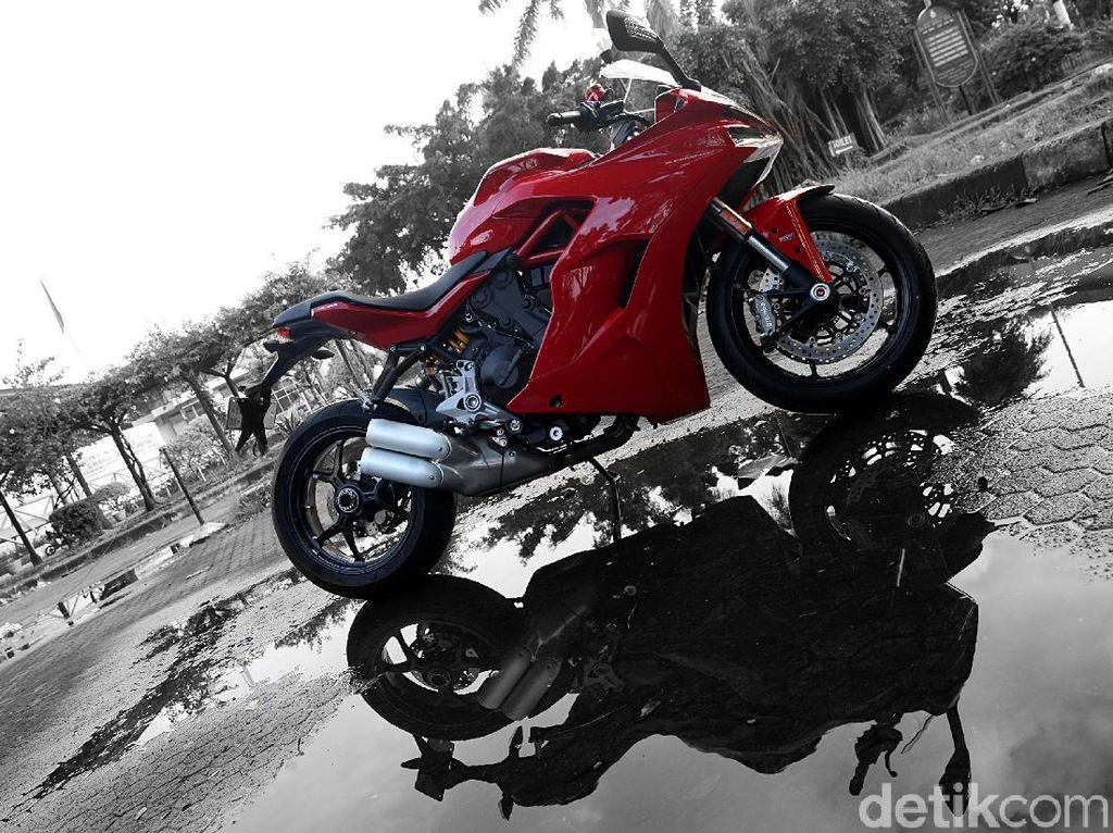 Kaca Spion Bergetar, Ducati Recall Varian Supersport