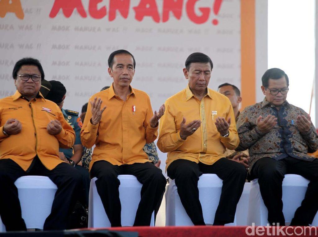 Persilakan Gatot Nyapres, Hanura Jagokan Duet Jokowi-Wiranto