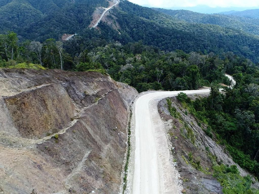 Jalan Trans Papua dan Jembatan Holtekamp Tak Terganggu Gempa