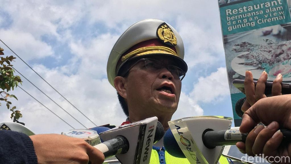 Arus Balik Natal, Kakorlantas: 180 Ribu Kendaraan Kembali ke Jakarta