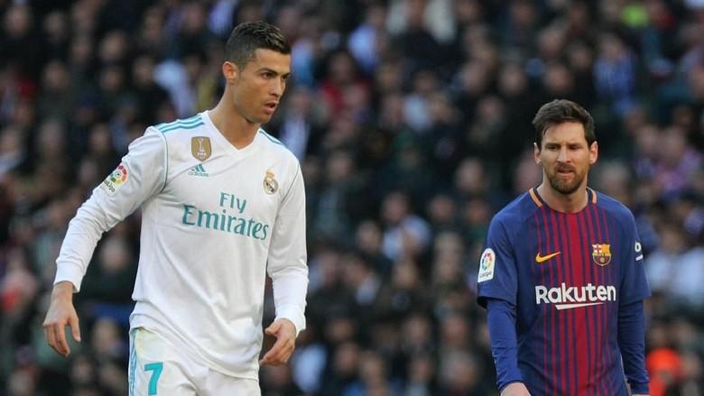 Nama Messi Terlarang di Rumah Ronaldo