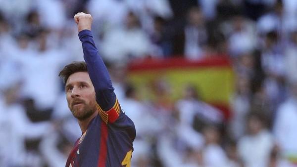 Di El Clasico, Messi Habiskan 75 Menit Berjalan Kaki