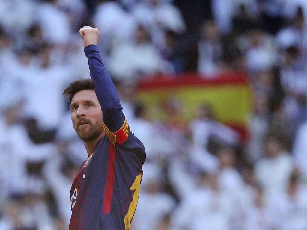 Messi Raja El Clasico