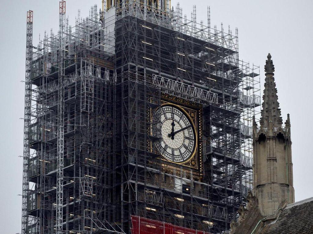 Penampakan Teranyar Big Ben, Ikon London yang Masih Direnovasi