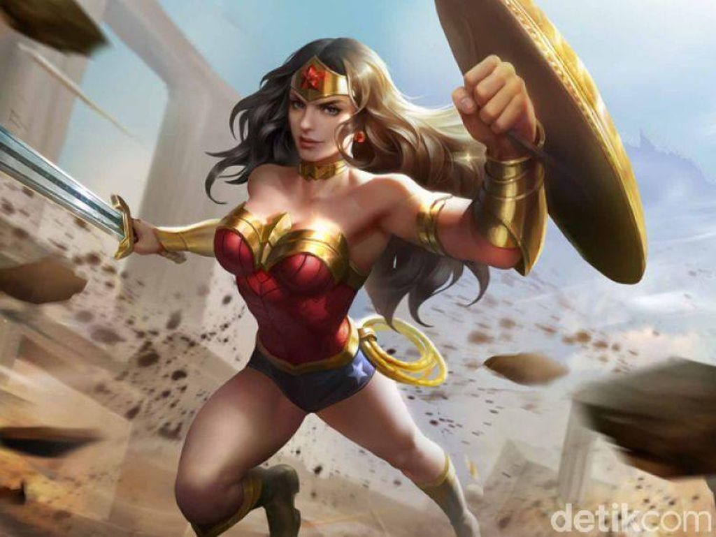 Wonder Woman Susul Batman dan Superman di AoV