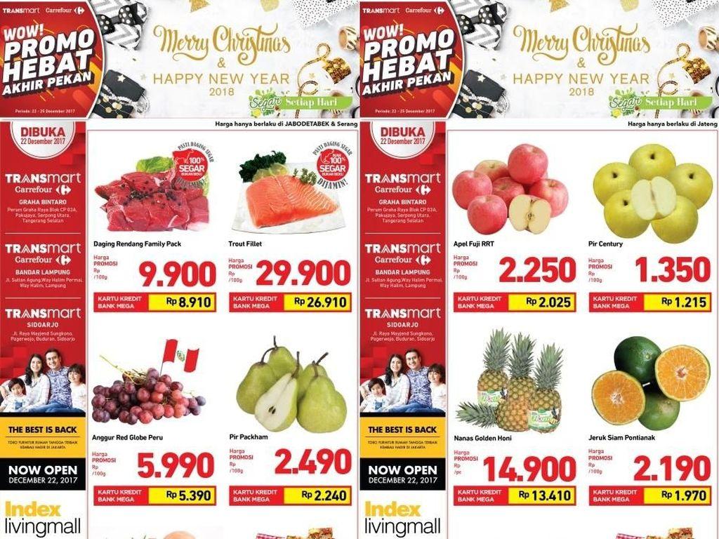 Akhir Pekan Sehat dengan Promo Bahan Segar di Transmart Carrefour