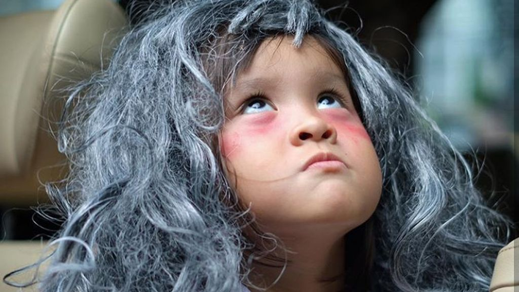 Aksi Menggemaskan Kala Madali, Putri Zaskia Adya Mecca