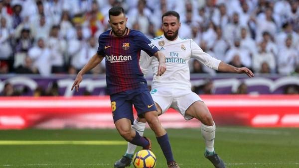 Babak Pertama El Clasico: Sengit, Madrid vs Barcelona Masih 0-0
