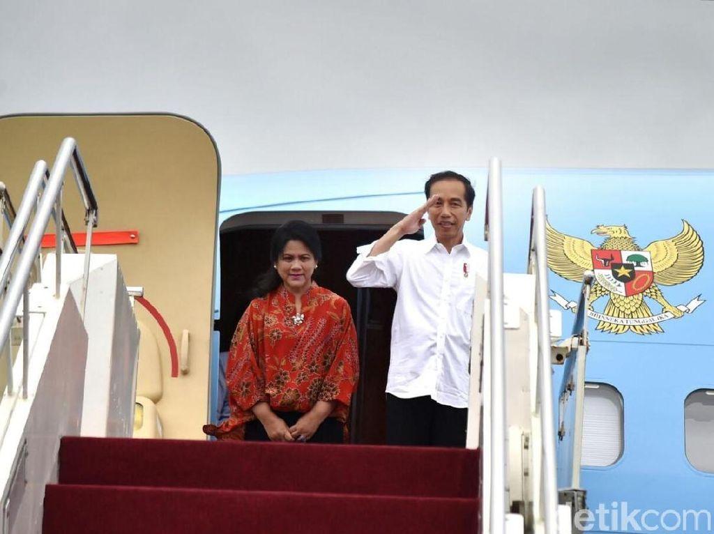 Gerindra Tak Rela Jokowi Pakai Pesawat Kepresidenan Saat Kampanye