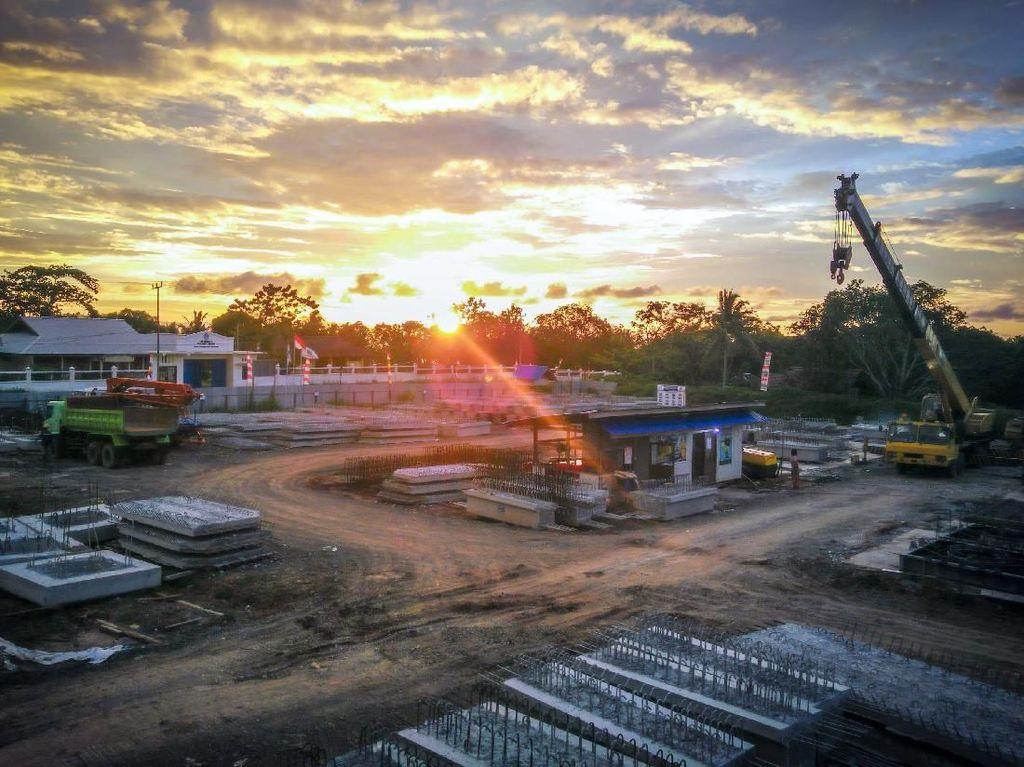 Yuk Intip Proyek Dermaga Peti Kemas di Sorong
