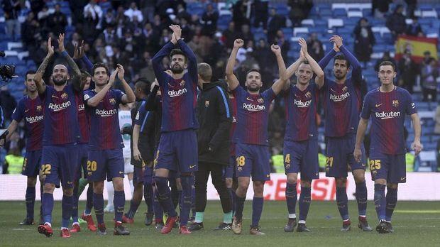 Barcelona sudah memastikan gelar Liga Spanyol musim ini.