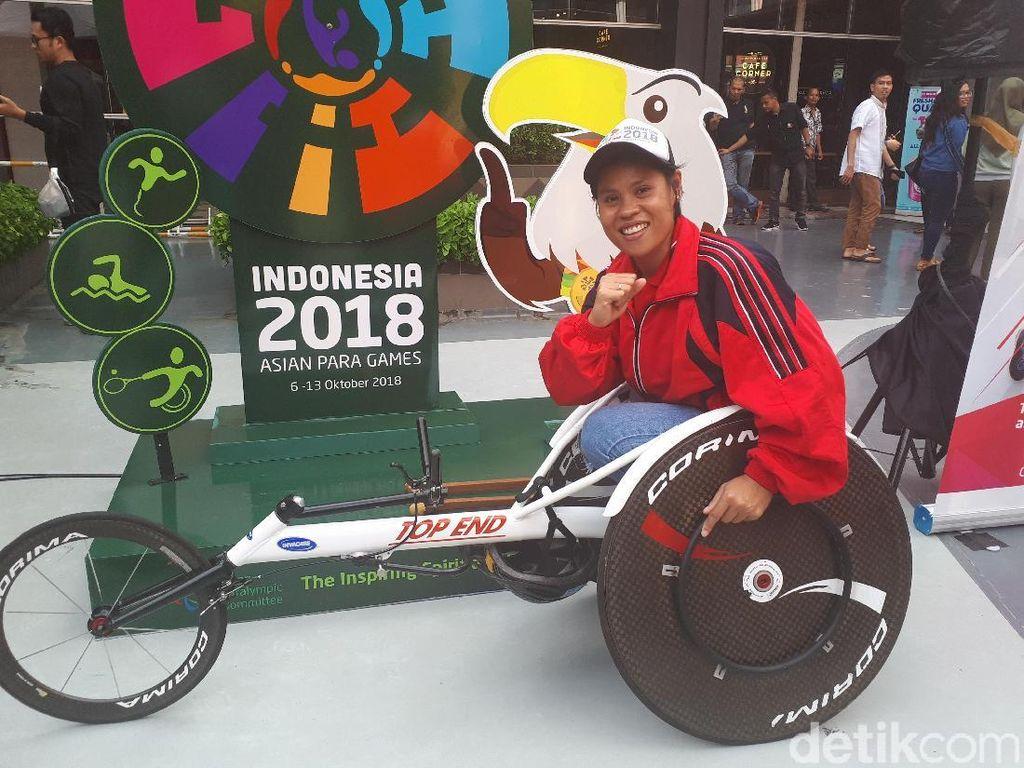 Mimpi Besar Maria, Si Debutan Asian Para Games 2018