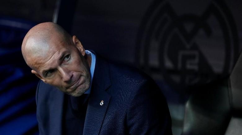 Zidane: Berita Negatif soal Madrid Memang Lebih Menjual
