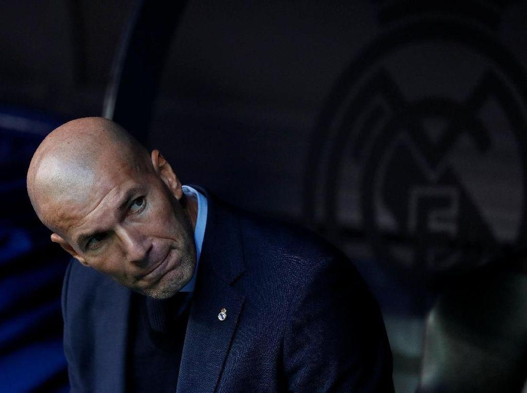 Zidane: Madrid Tidak Butuh Kiper Baru