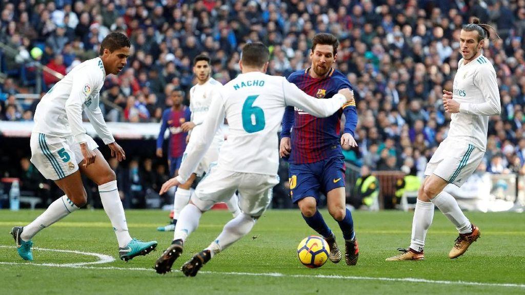 Santiago Bernabeu Panggung Messi