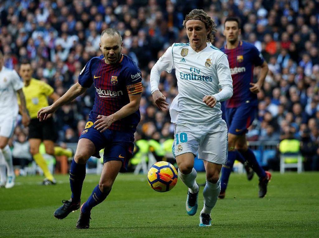 Barca Hajar Madrid, Iniesta Tetap Tak Jemawa