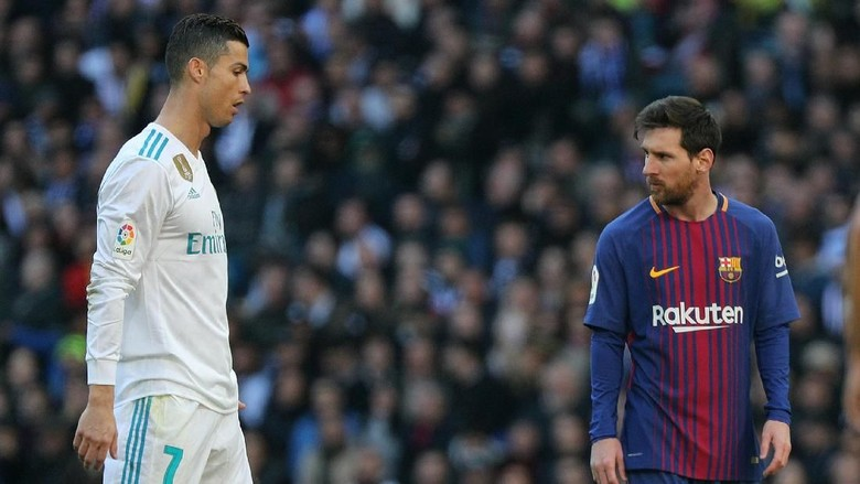 Melanjutkan Adu Subur Ronaldo vs Messi