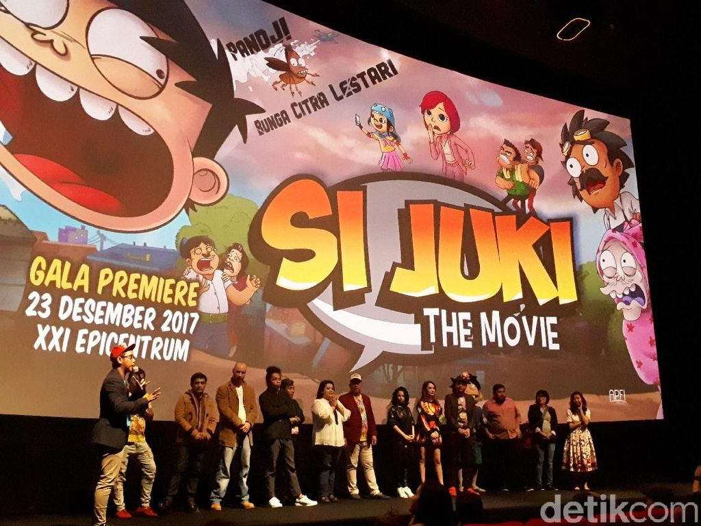 Petualangan Juki Hentikan Kehancuran di Si Juki The Movie