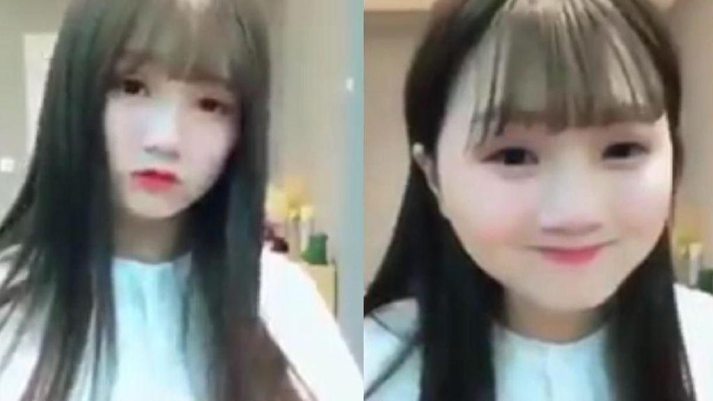 Foto 5 Wanita Cantik yang Bikin Netizen Kaget Setelah Melihat Wajah Aslinya