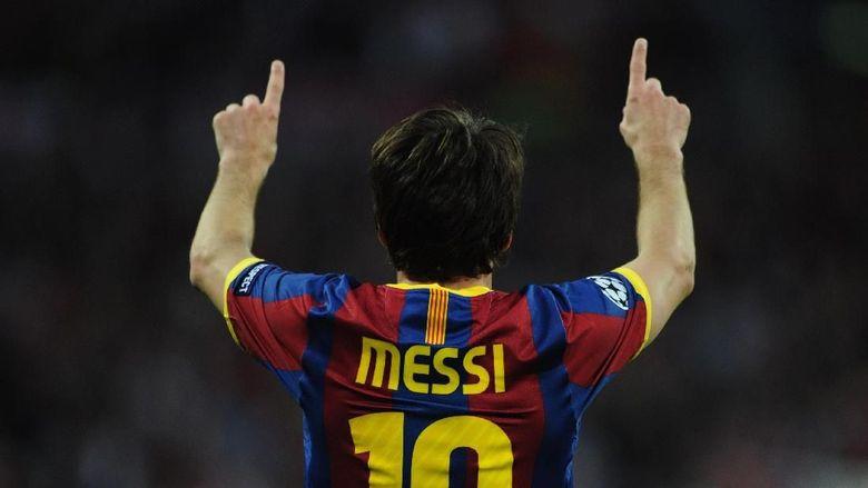Messi dan Selebrasinya yang Ikonik