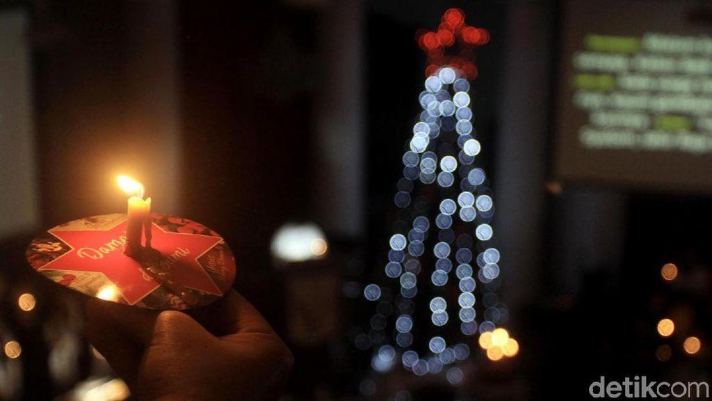 Begini Suasana Misa Natal di Gereja Immanuel