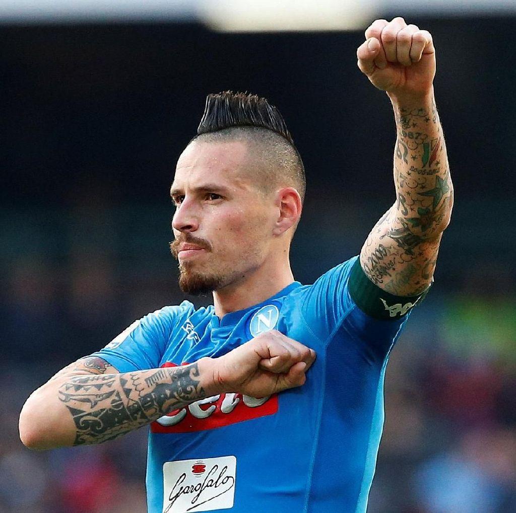 Hamsik Tertantang Bikin Rekor di Serie A, tapi Lebih Utama Scudetto