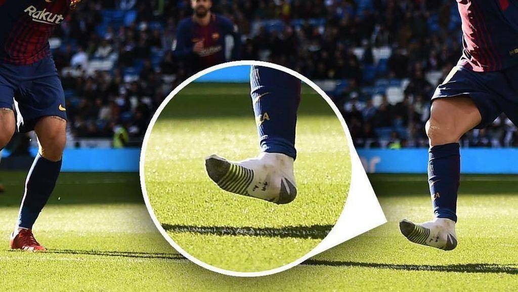 Foto: Mana Sepatumu, Messi?