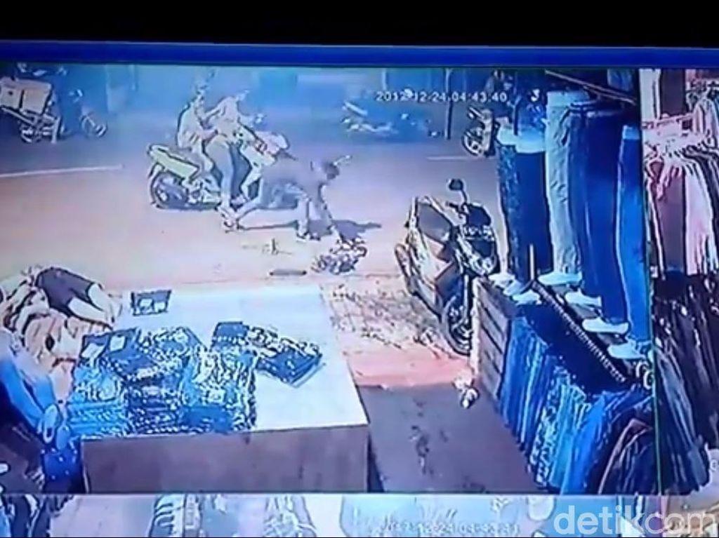 Polisi Gelar Prarekonstruksi Penjarahan Geng Motor Jepang di Depok