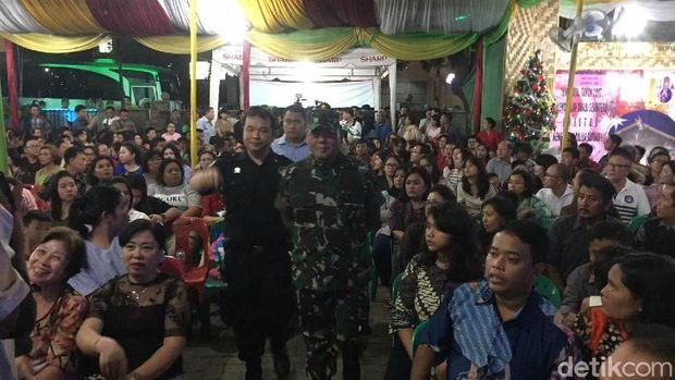 Jemaah Tabligh di Medan Ikut Amankan Gereja saat Malam Natal