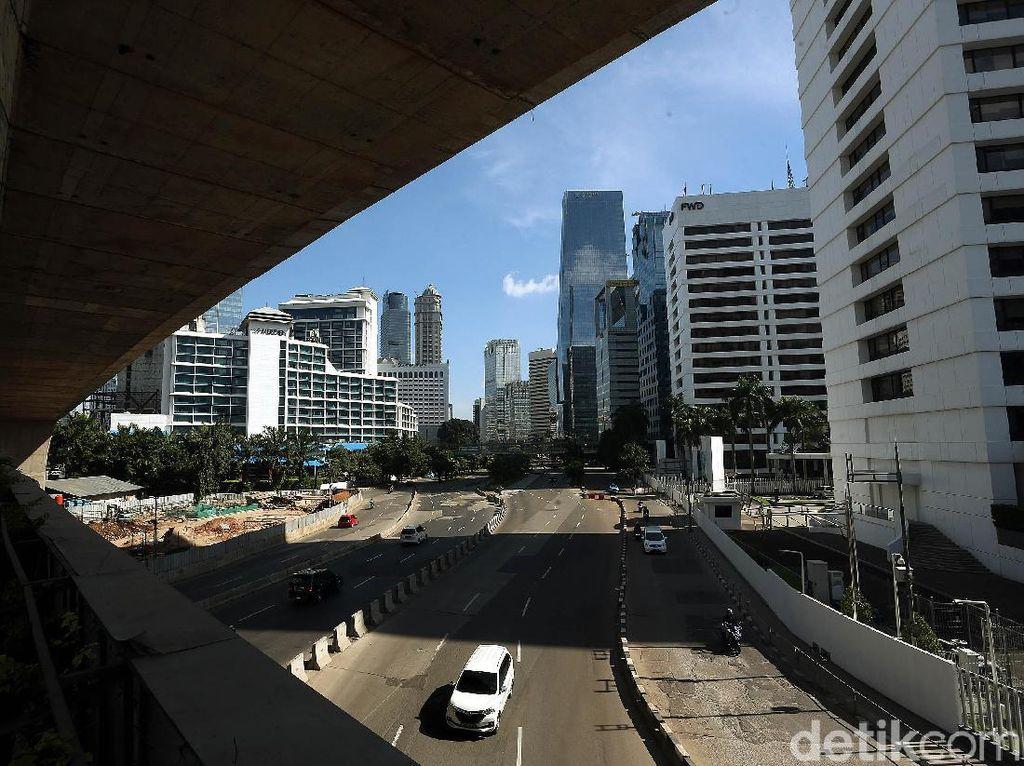 Nikmati Jalanan Kosong di Jakarta, Ingat Batas Kecepatan Maksimal