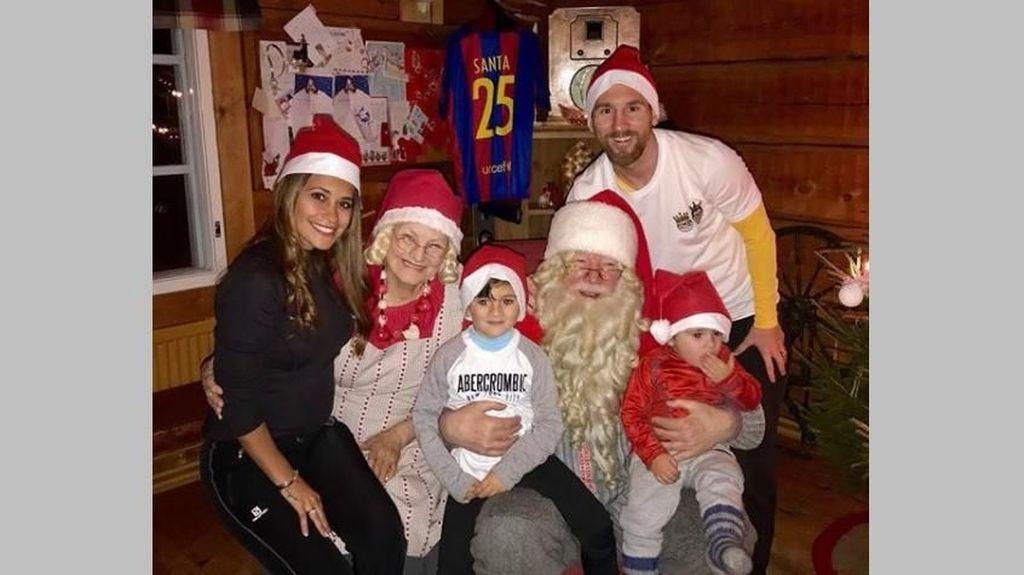 Turut Merasakan Kehangatan Natal dari Keluarga Messi Sampai Ronaldo