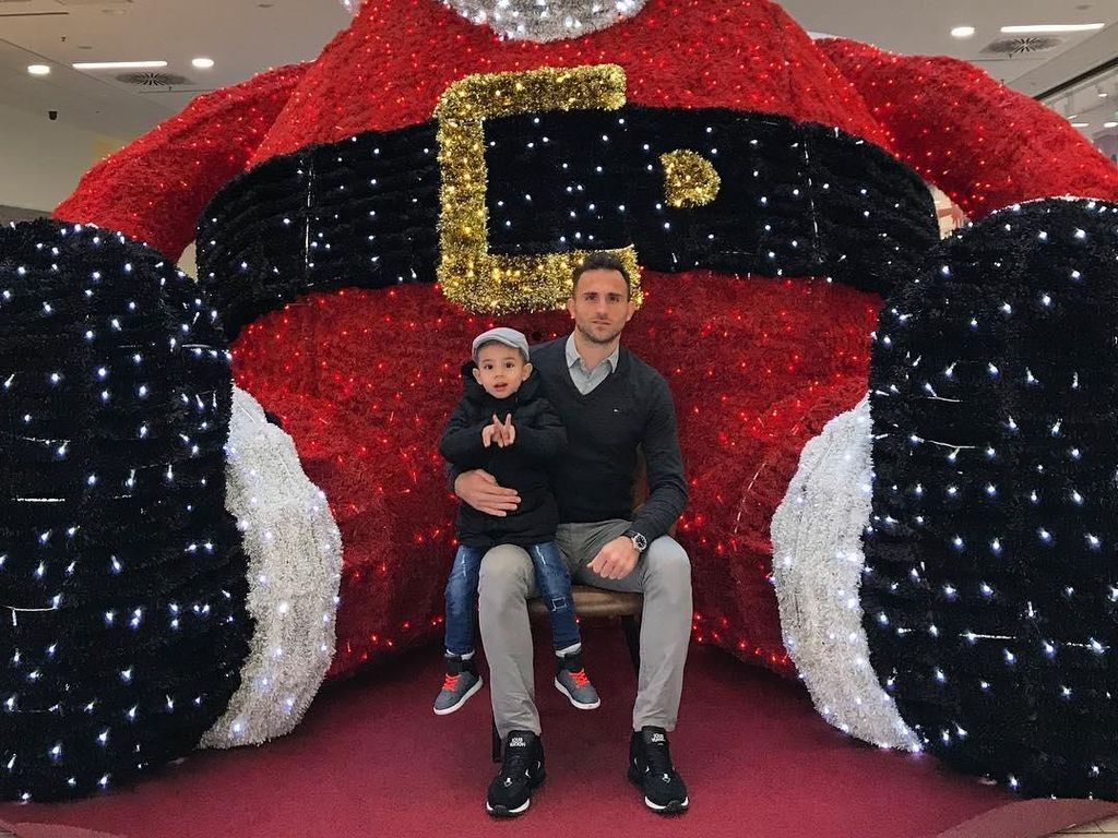 Mengintip Perayaan Natal Pesepakbola Indonesia