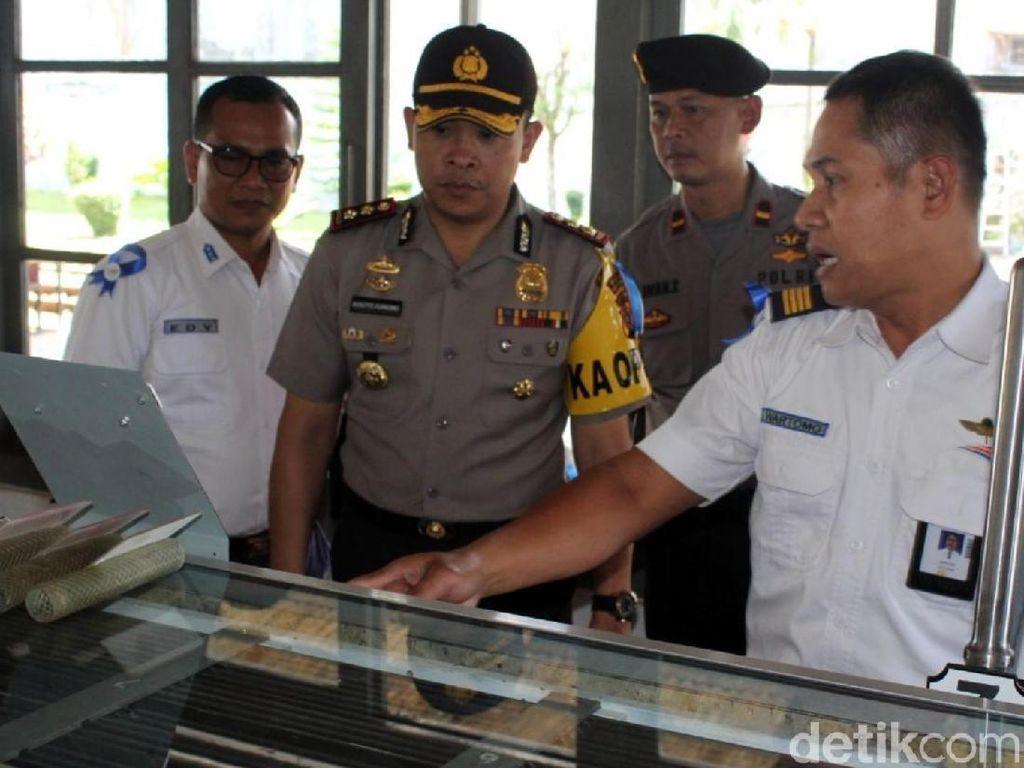 Jelang Tahun Baru, Polisi Cek Jalur Kereta Sukabumi-Bogor
