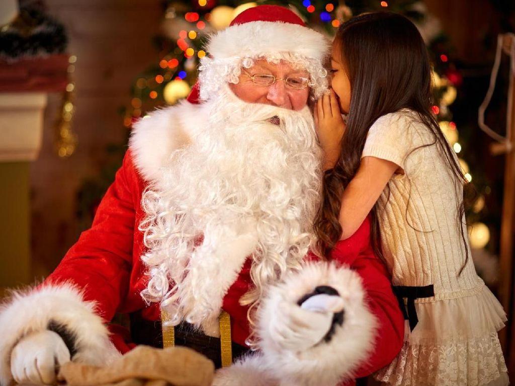 Haru! Bukan Mainan, Gadis Cilik Ini Minta Ginjal pada Santa