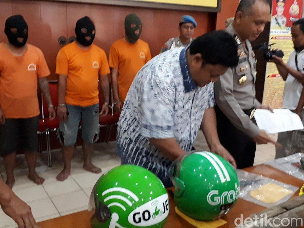 Ini Motif Pelaku Penusukan Sopir Ojek Online di Bandung