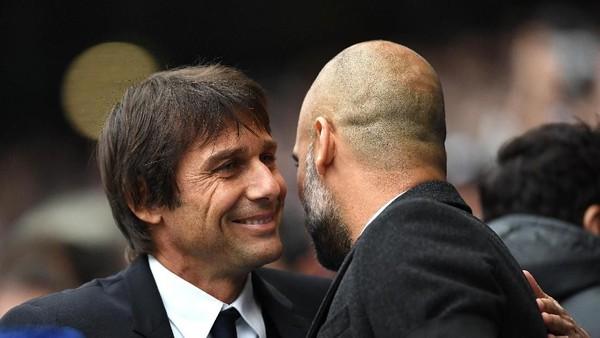 Guardiola Sebut Conte sebagai Pakar Taktik